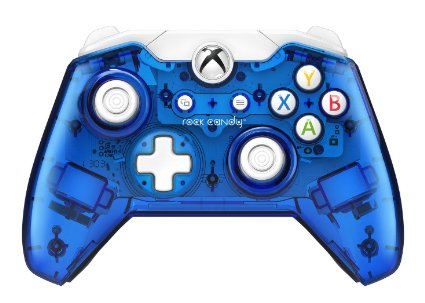 Rock Candy Wired Controller Blue Xbox One
