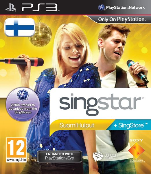 Singstar Suomihuiput PS3