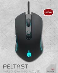 Spartan Gear Peltast Wired Gaming Mouse PC