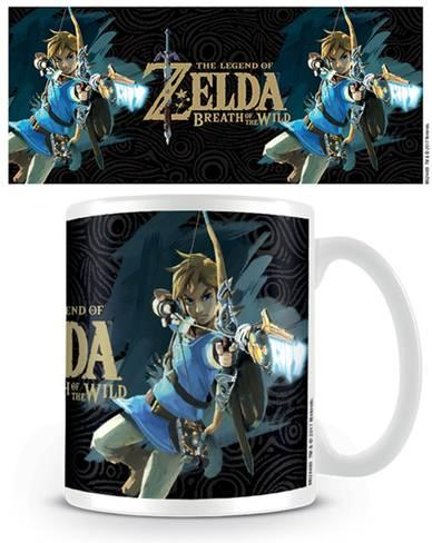 Zelda Breath of the Wild Game Cover Coffee Mug