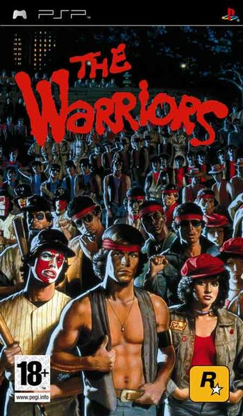 Warriors PSP