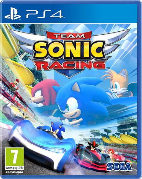 Team Sonic Racing PS4 kansikuva