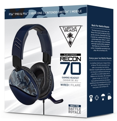Turtle Beach Recon 70p Blue Camo