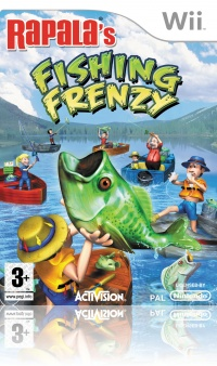 Rapala Fishing Frenzy Wii