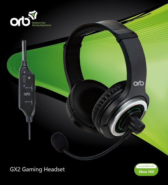 GX2 Gaming Headset Orb XBOX 360