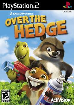 Over the Hedge (Yli aidan) PS2